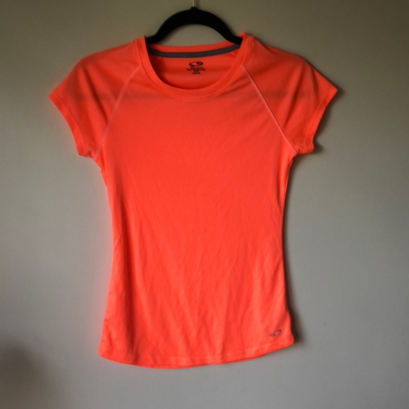 Champion Tops - Champion orange workout tee